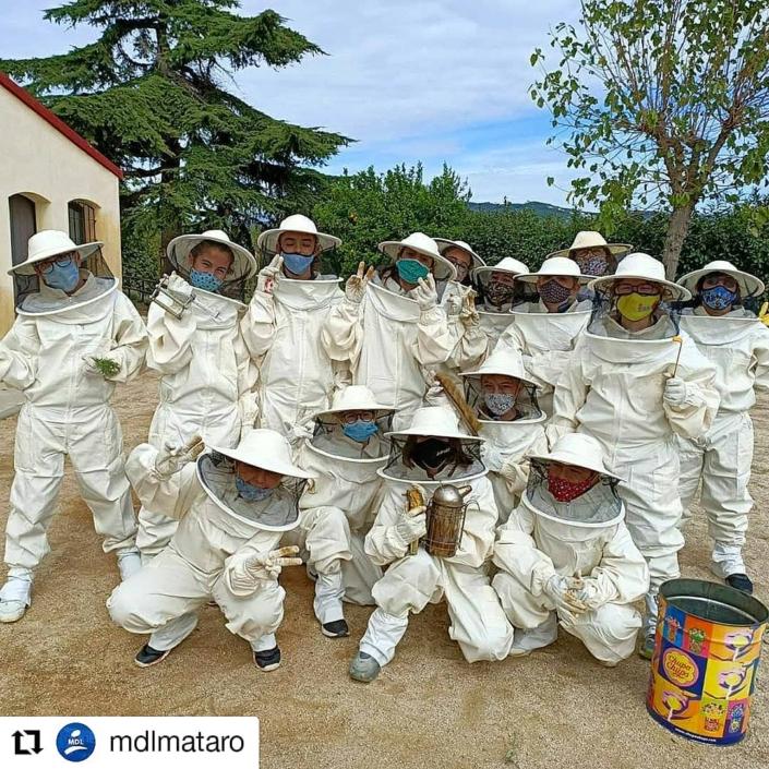 L'aula apícola de Can Parcala reobre les seves portes a la comunitat educativa_Fundació el Maresme_Ceo del MAresme