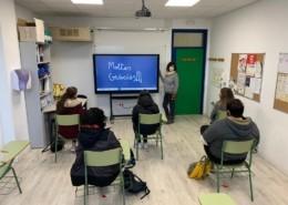 Pissarra digital tàctil al SEFI de la Fundació el Maresme_Donatiu Cabré Junqueras