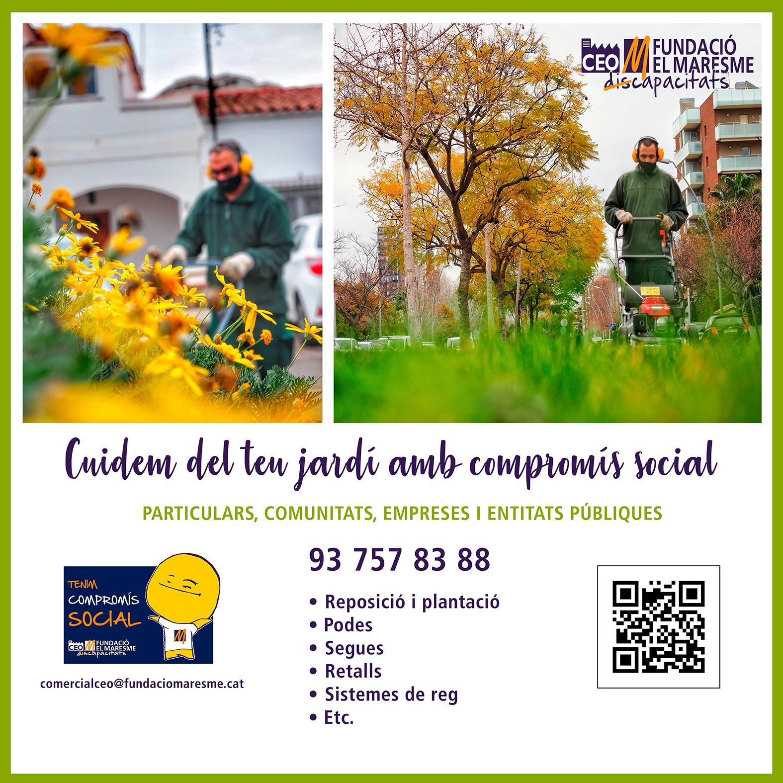 Servei de Jardineria_autobús Mataró Argentona Dosrius_CEO DEL MARESME_primavera